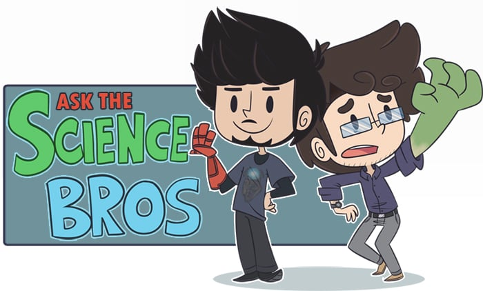 The Science Bros at their best.