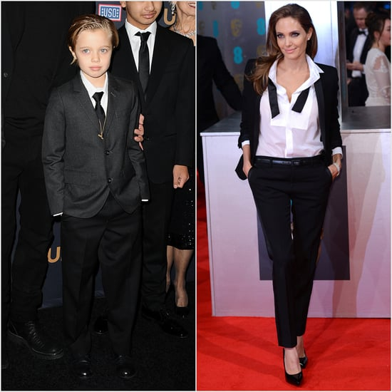 Shiloh Jolie-Pitt Wearing a Suit at the Unbroken Premiere