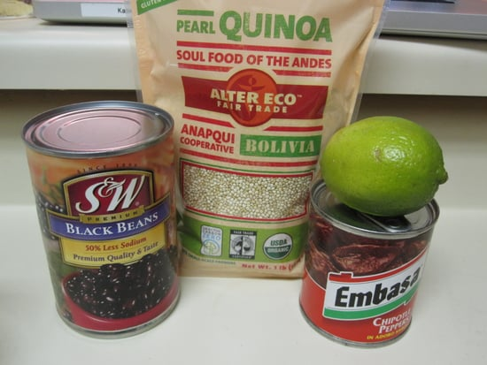 Healthy and Quick Black Bean Quinoa Salad Recipe 2010-01-13 16:30:49