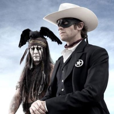 The Lone Ranger Johnny Depp Picture