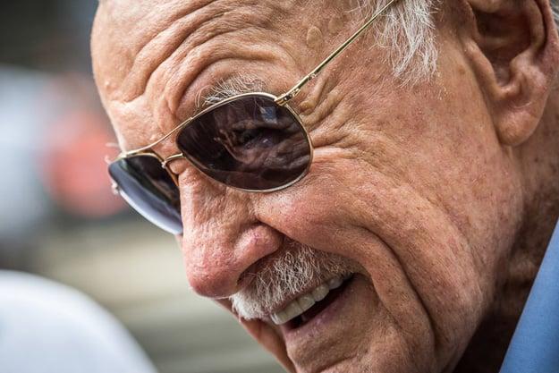 Comic-book legend Stan Lee makes an appearance.