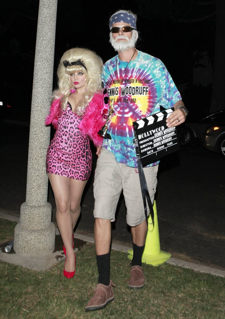 You may not recognize them . . . but that's Fergie and Josh Duhamel dressed as Angelyne and Dennis Woodruff in 2012.