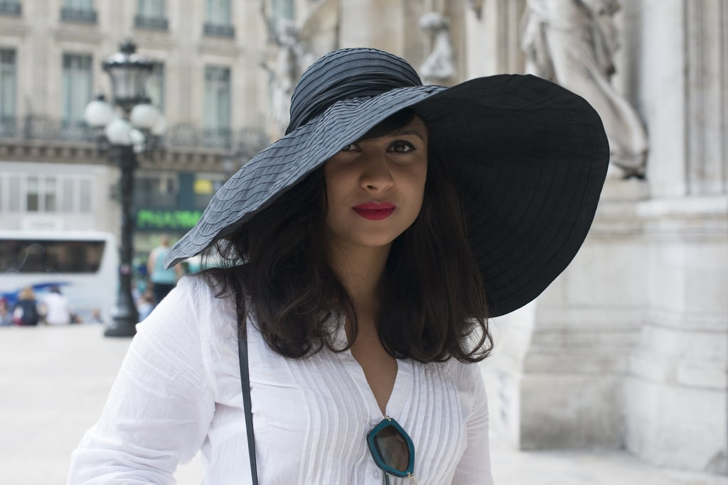 Summer isn't complete without a dramatic floppy hat. It's a beach essential to protect your skin and hair from sun damage.