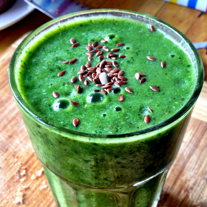 Healthy Green Smoothie Recipe With Coconut Water
