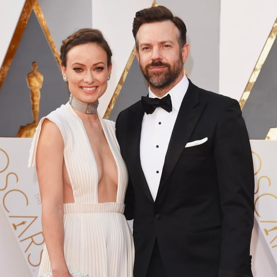 Olivia Wilde and Jason Sudeikis at the Oscars 2016