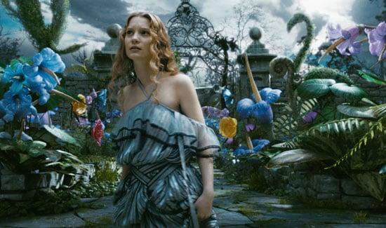 Movie Review of Tim Burton's Alice in Wonderland, Starring Johnny Depp, Mia Wasikowska, Helena Bonham Carter, and Anne Hathaway 2010-03-05 07:30:00