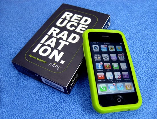 Pong Cell Phone Case Reduces Cell Phone Radiation