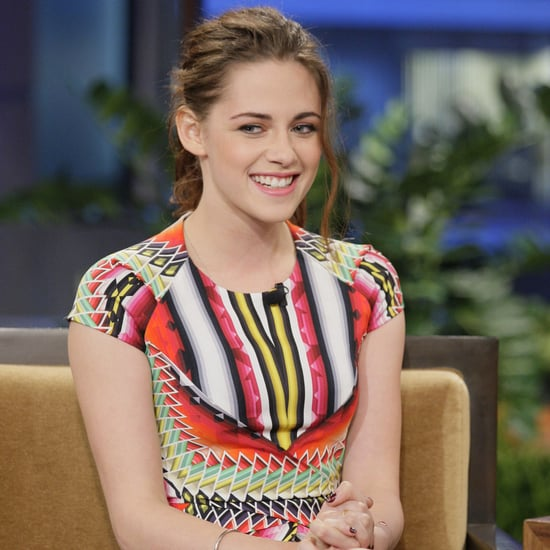 Kristen Stewart Pictures on The Tonight Show With Jay Leno
