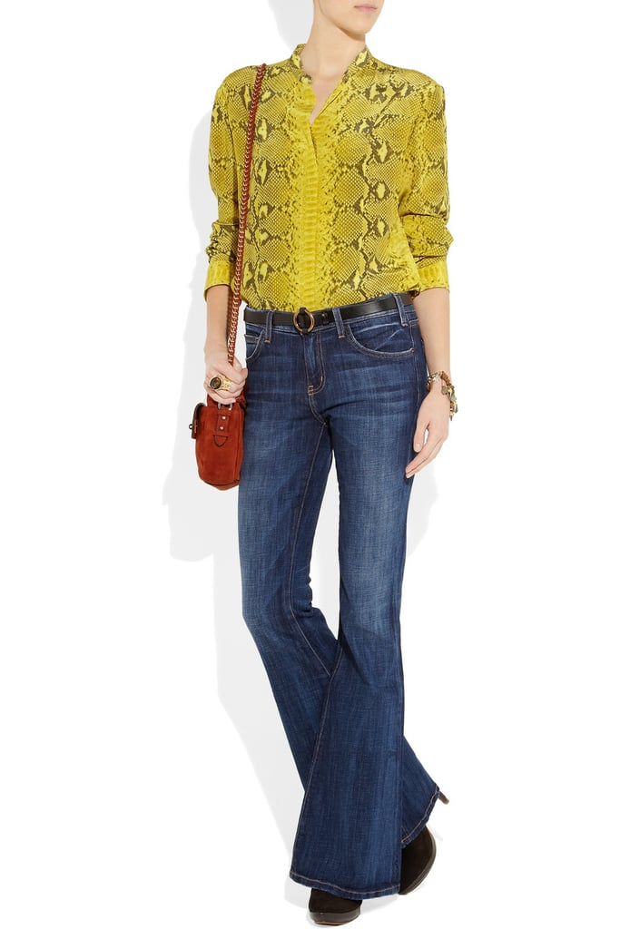 Current/Elliott The Bell Low-Rise Flared Jeans ($210)