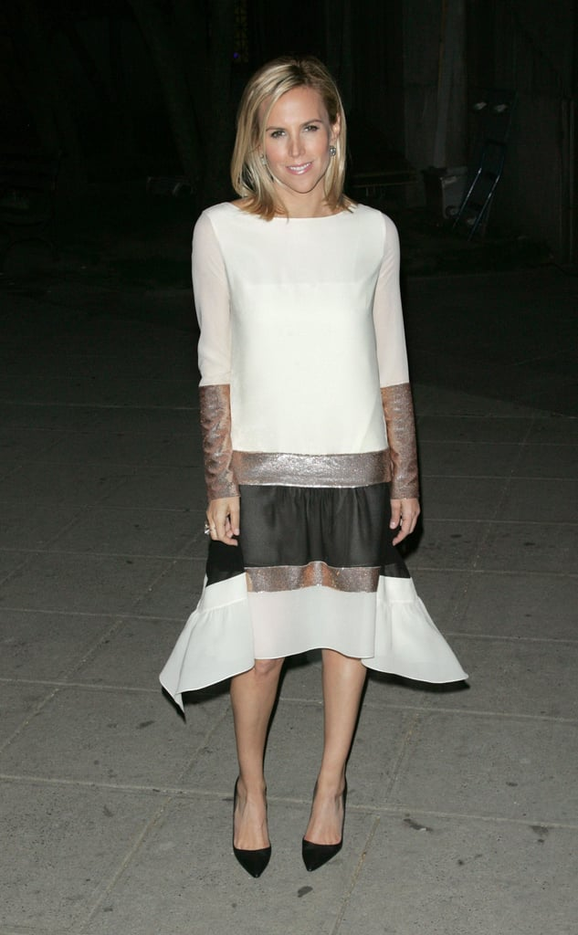 Tory Burch arrived at the Vanity Fair Party at the 2012 Tribeca Film Festival.