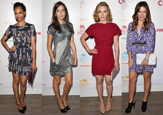 Scarlett, Zoe, Camilla, and More Hit Coach's Charity Cocktail Party