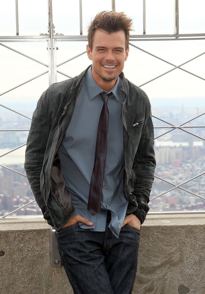 Josh stopped by the Empire State Building in NYC in February 2013.