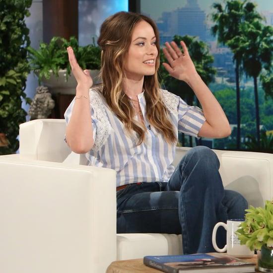 Olivia Wilde on The Ellen DeGeneres Show March 2016