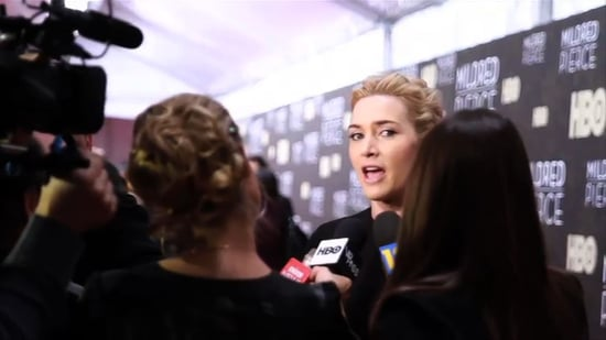 Video: Kate Winslet and Evan Rachel Wood at Mildred Pierce Premiere in New York City