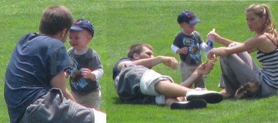 Photos of Tom Brady With Son John Moynahan and Gisele Bundchen