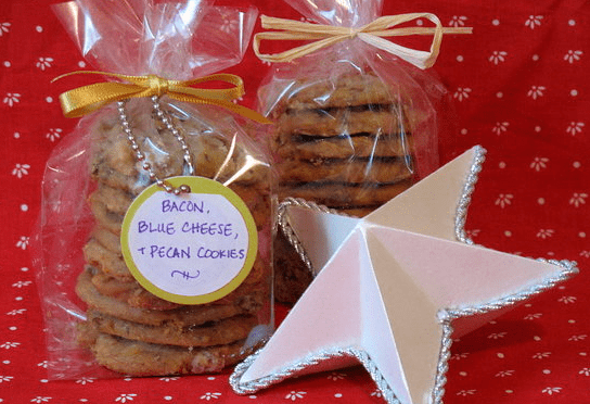 Sugar Shout Out: Bacon, Blue Cheese, & Pecan Cookies!