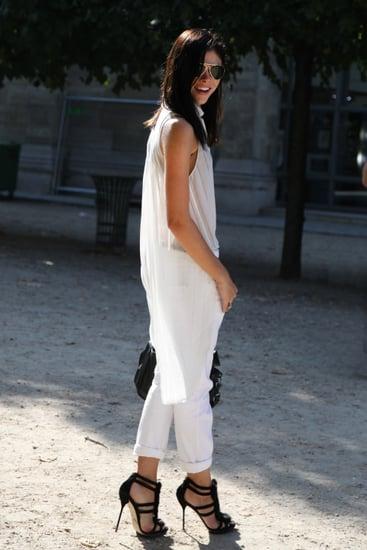 Spring 2012 Paris Fashion Week Street Style: Day 2