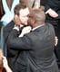 Steve McQueen, the director for 12 Years a Slave, gave Michael Fassbender a big kiss after accepting the Oscar for best picture.