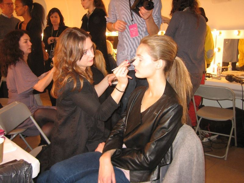 Backstage Beauty: Armand Basi