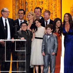 Modern Family Wins the Screen Actors Guild Award For Outstanding Performance by an Ensemble in a Comedy Series 2011-01-30 17:53:40