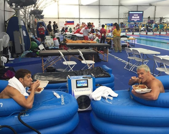 Spaghetti Party! Ryan Lochte Posts Photo with Michael Phelps Ahead of 'Final Brodown' at the Olympics