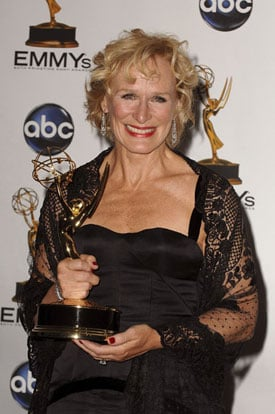 Live From the Emmy Press Room: Glenn Close