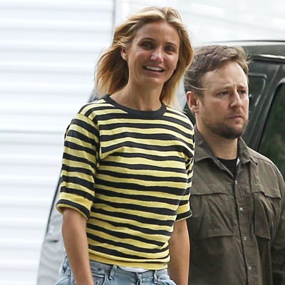 Cameron Diaz and Jason Segel Film Sex Tape | Pictures