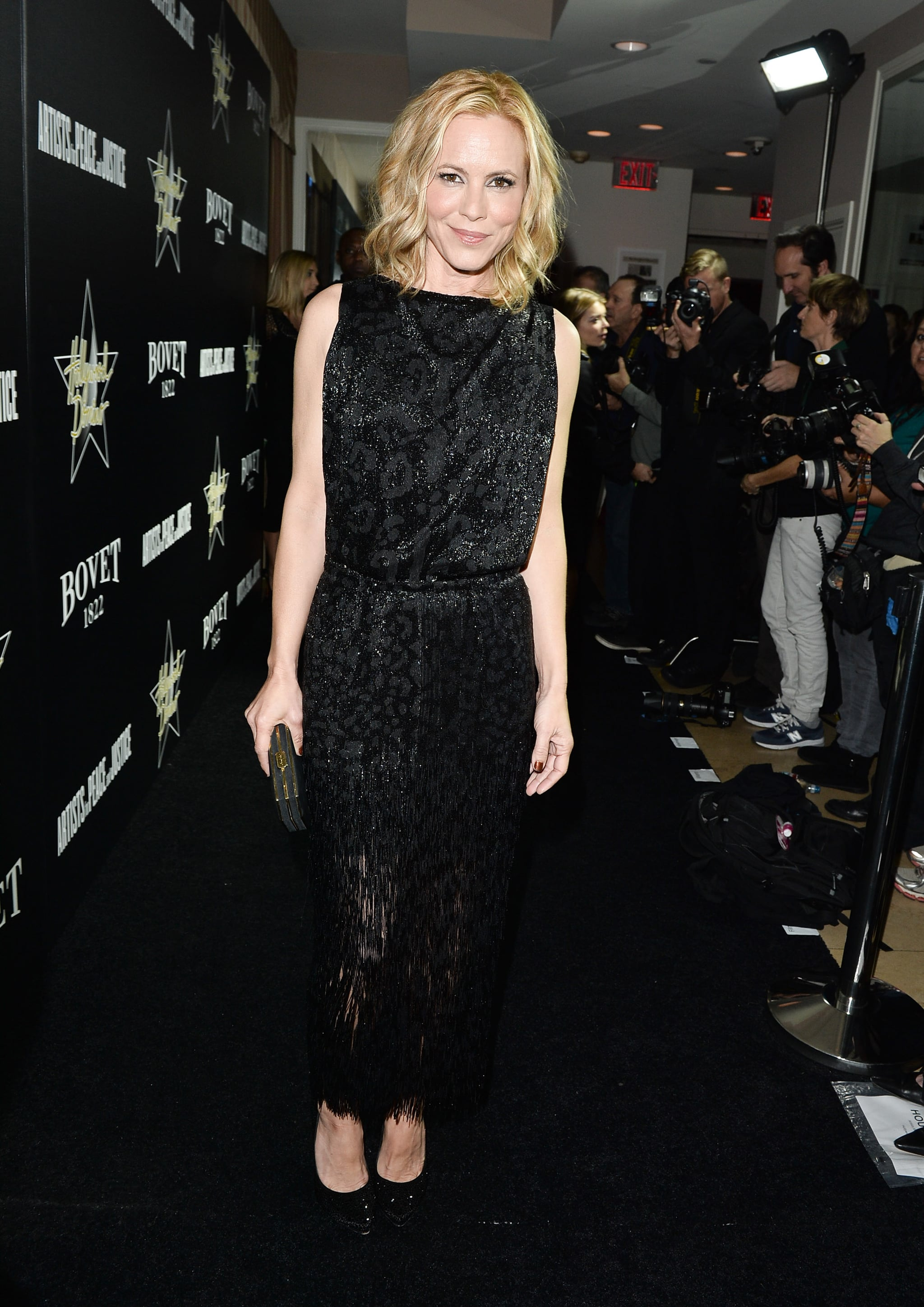 Maria Bello at the Hollywood Domino and Bovet 1822 Gala