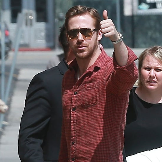 Ryan Gosling in LA After Baby News May 2016 | Pictures