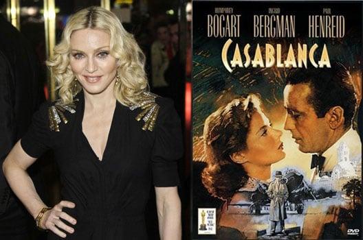 Bad Idea of the Week: Madonna Remaking Casablanca (?!)