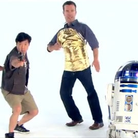Star Wars Celebrity Stand Up to Cancer Video