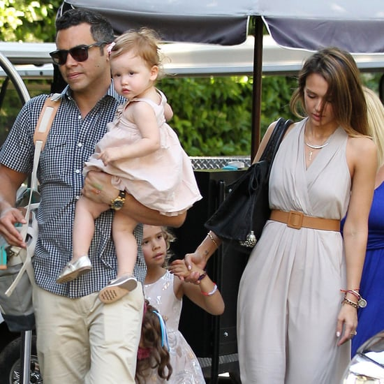 Jessica Alba With Daughter Honor | Photos