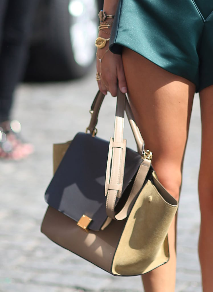 A covet-worthy Céline made its mark on the fashion crowd. Source: Greg Kessler