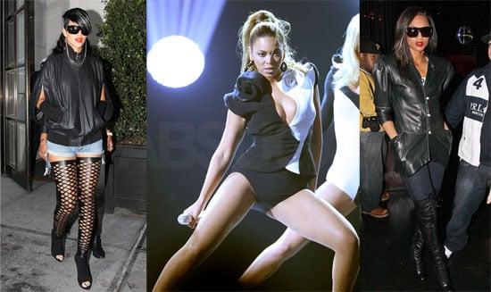 Who's More Fierce — Rihanna, Beyonce, or Ciara?