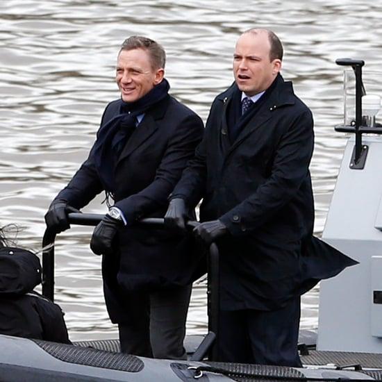 James Bond Spectre Set Photos