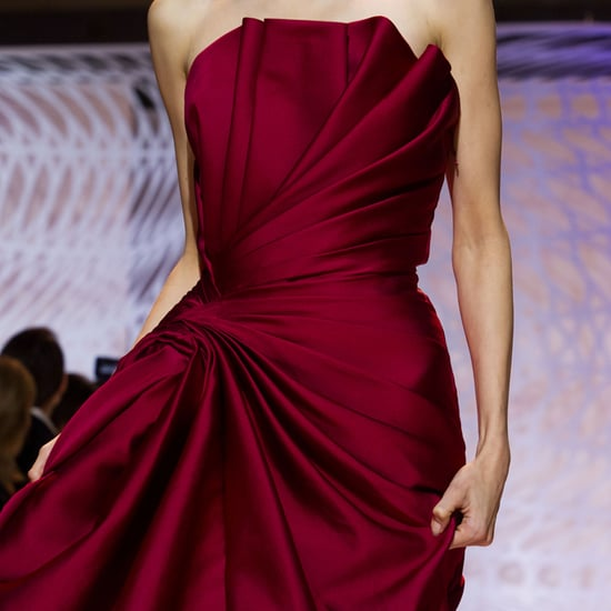 Close-Up Pictures Dress Details Haute Couture Fashion Week