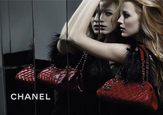 Photos of Blake Lively for Chanel Mademoiselle Handbag Line 2011-03-07 07:39:18