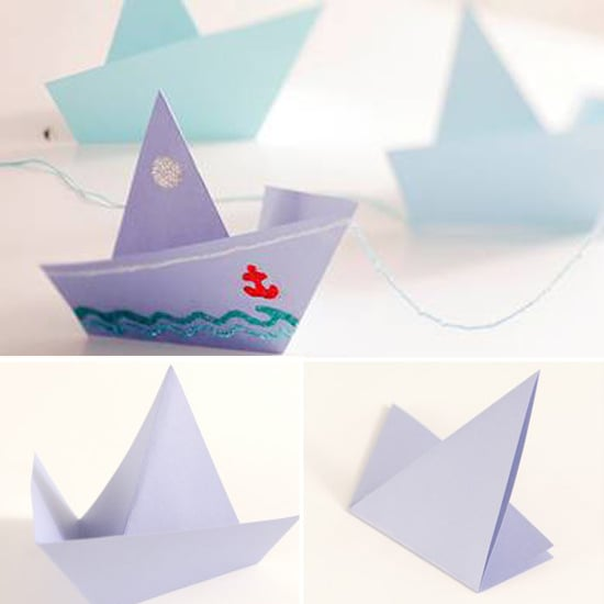 Have Them Craft an Origami Sailboat