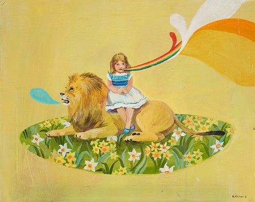 Midday Muse: In Like a Lion