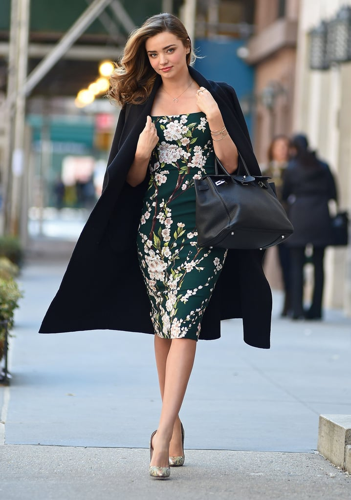 Miranda Kerr looked picture-perfect when she ran errands in NYC on Wednesday.