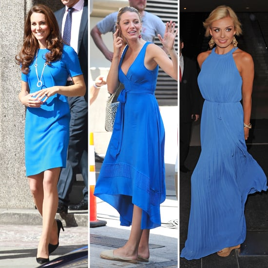Kate Middleton's Bright Blue Stella MCartney Dress