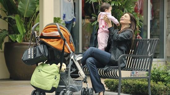 Stroller on Modern Family