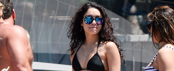Vanessa Hudgens Busts Out the Belly Chain For a Boat Day in Miami
