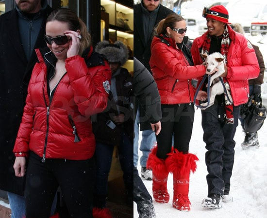 Photos of Nick Cannon and Mariah Carey in Aspen