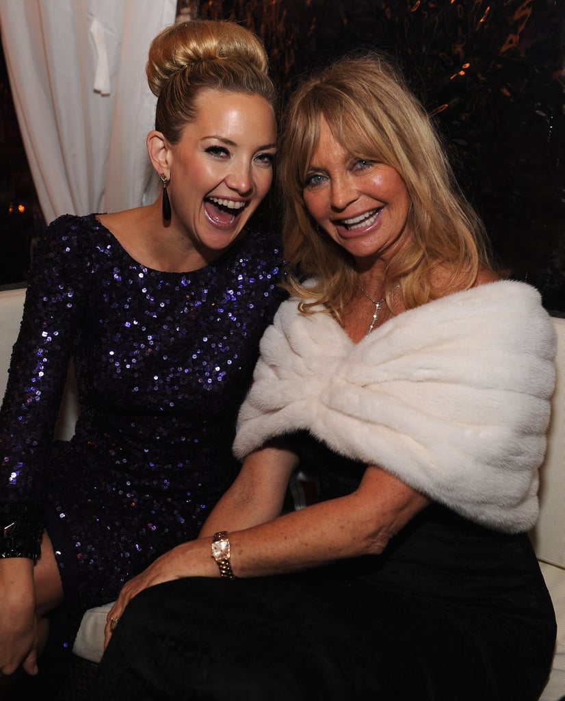 Kate Hudson and Goldie Hawn hung out together at the White House Correspondant's Dinner.