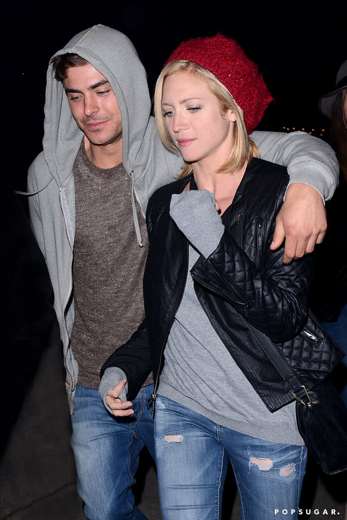 Zac Efron Reconnects With Old Friend Brittany Snow Postrehab