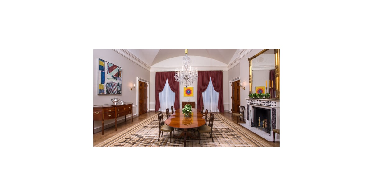 The White House Family Dining Room Makeover Popsugar Home