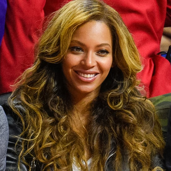 Beyonce Knowles Blond Highlights 2015