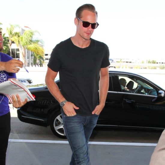 Alexander Skarsgard Out in LA March 2016