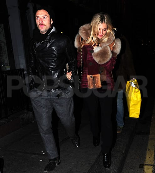 Pictures of Sienna Miller and Jude Law on a Date in London
